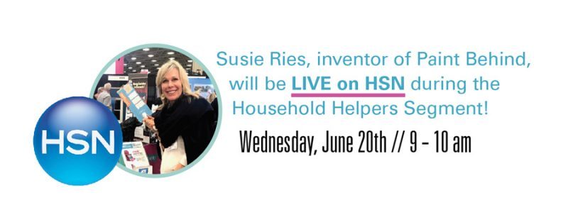 Paint Behind on HSN