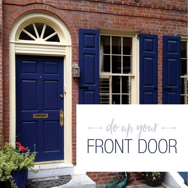 Do Up Your Front Door Paintbehind